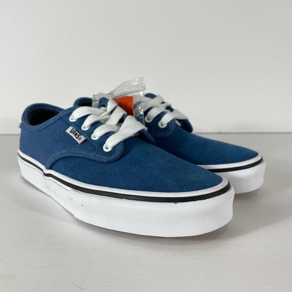 Vans Other - Vans Chima Ferguson Pro Blue Ashes White Sneakers